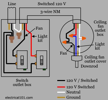 Fan Switch Schematic