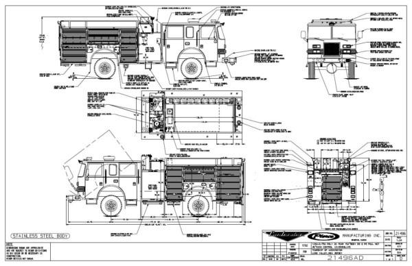 Pierce Fire Truck Wiring Diagram