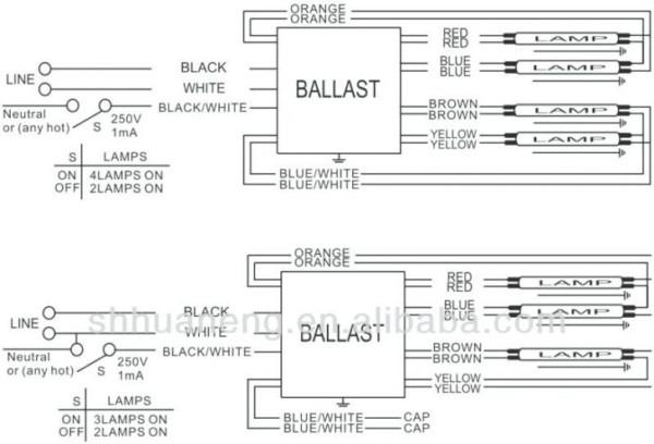 Fluorescent Emergency Ballast Wiring Diagram Iota I32 Beghelli For