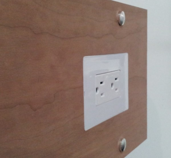Flush Mount Electrical Outlet