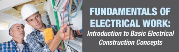 Fundamentals Of Electrical Work