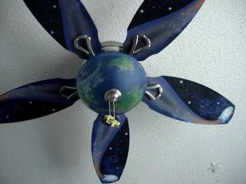 Gabriel's Ceiling Fan
