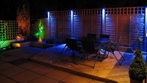 Garden Lighting & Wiring