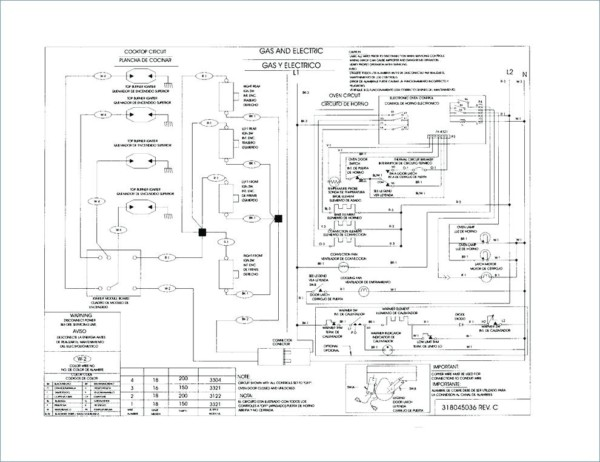 universal 4 wire dryer power cord