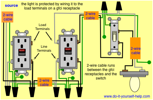 Gfci Switch Wiring Diagram