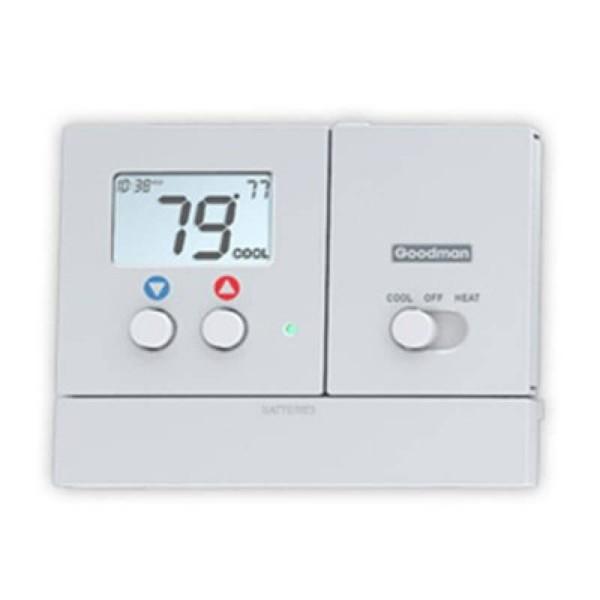 Goodman Single Stage Programmable Heat Pump Thermostat 2 Heat 1