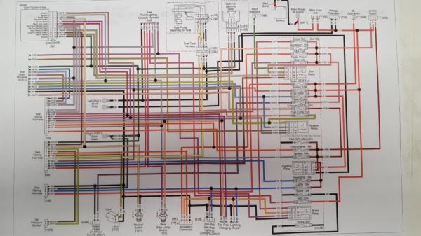 Harley Ignition Switch Wiring Diagram 2014