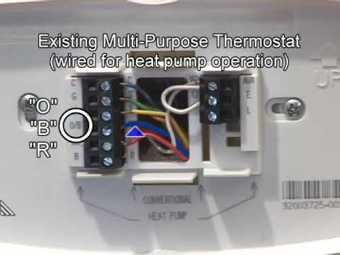 Heat Pump Wiring & Mechanical Settings