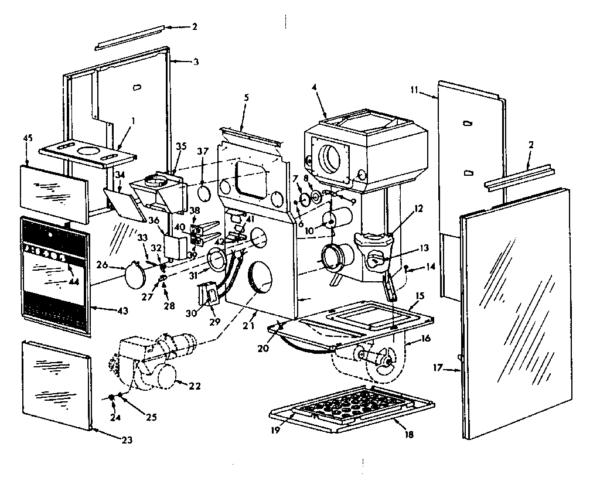 Heil Furnace Parts Diagram