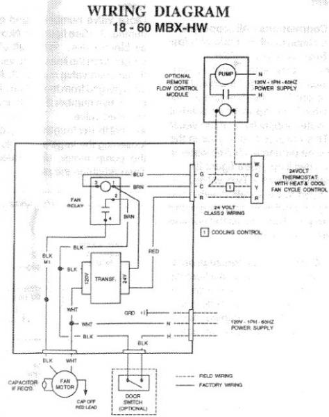Help Wiring Aprilaire 500 W Model 60 To My Energy Kinetics System