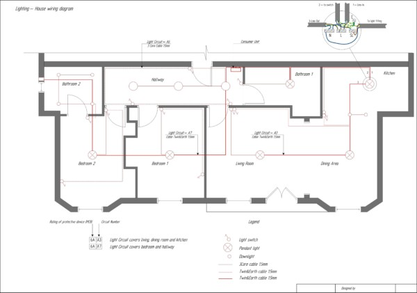Home Electrical Diagram