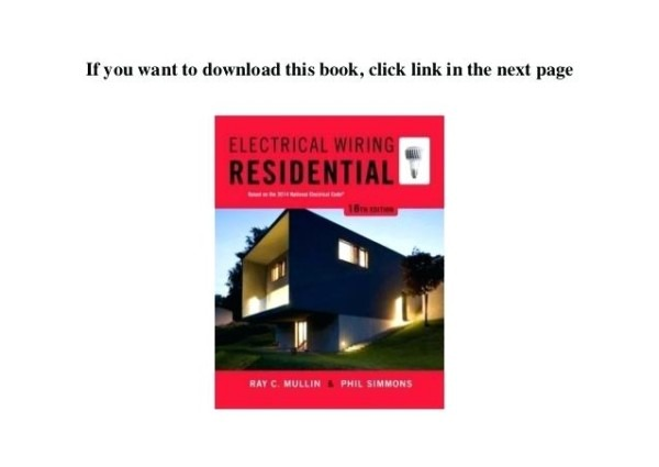 Home Electrical Wiring Guide To Pdf Basic Guidelines Residential