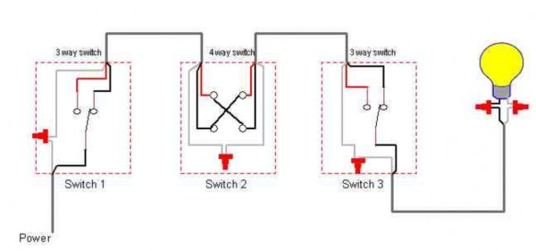 How 4 Way Switch Works