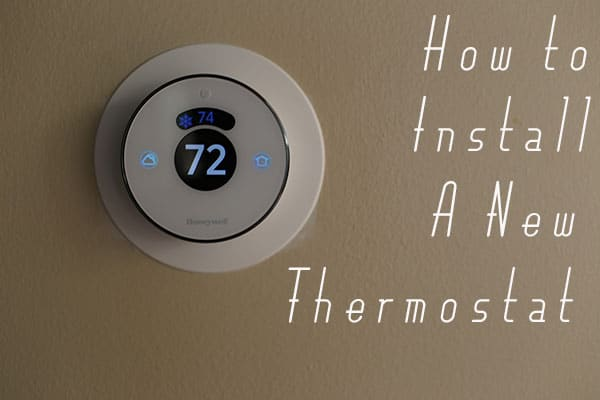 How To Change The Thermostat