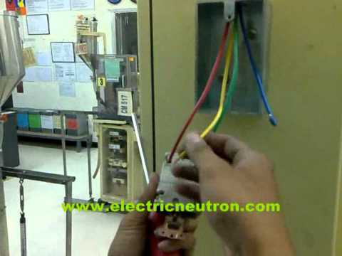 How To Install 200 Vac 3 Phase Socket Outlet Wmv