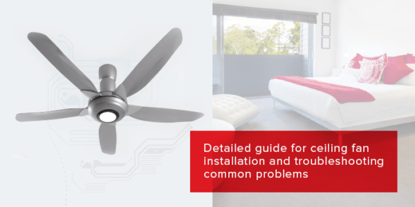 How To Install A Ceiling Fan  Step
