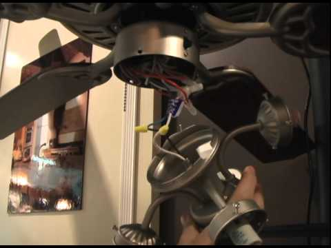 How To Install A Ceiling Fan Light Kit