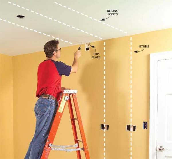 How To Install A Ceiling Light Fixture Without Ex Simple How To