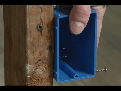How To Install An Electrical Outlet Box