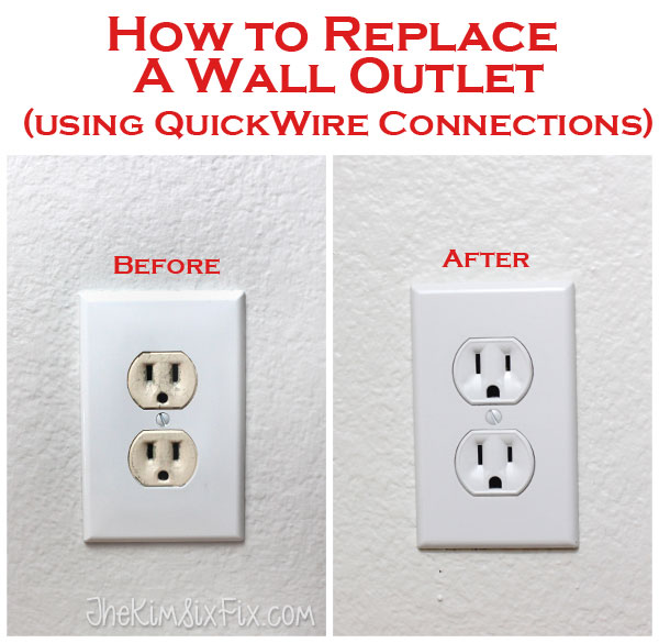 How To Replace Electrical Outlets Using Quickwire (push