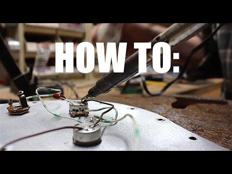 How To Solder  Basic Electric Guitar Wiring 101 (by Request)
