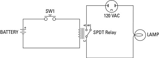 How To Use Relays To Control Electronic Line