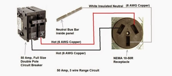 How To Wire 220 Volt Outlet Diagram