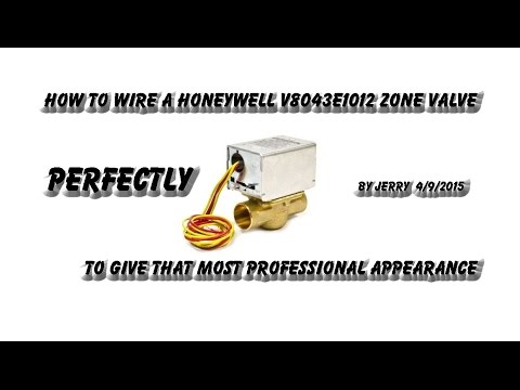 how_to_wire_a_honeywell_v8043e_zone_valve_2 Youtube Wiring Boiler Zone Valve Diagram on