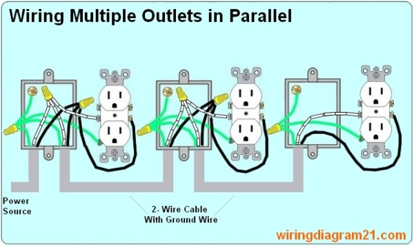 Wiring Electrical Outlets In Parallel