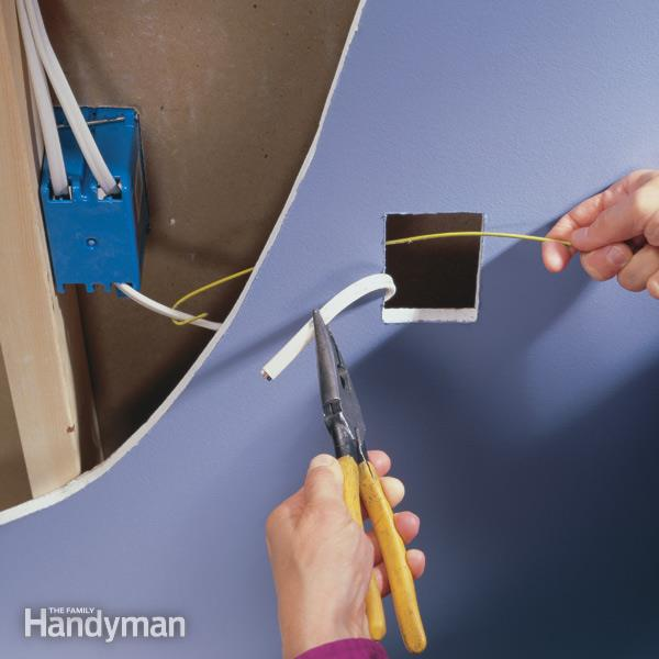 How To Wire An Outlet And Add An Electrical Outlet — The Family