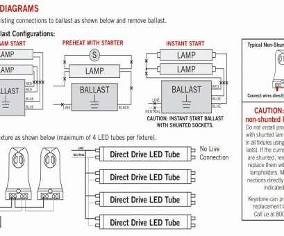 How To Wire, Light Ballast Nice B90 Bodine Emergency Ballast