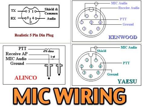 Icom Mic Wiring Diagram
