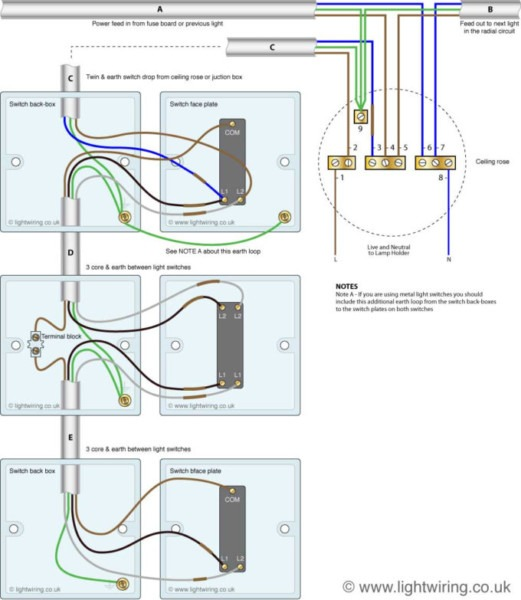 Ideas  Enjoyable 3 Way Light Switch Wiring For Your House Concept