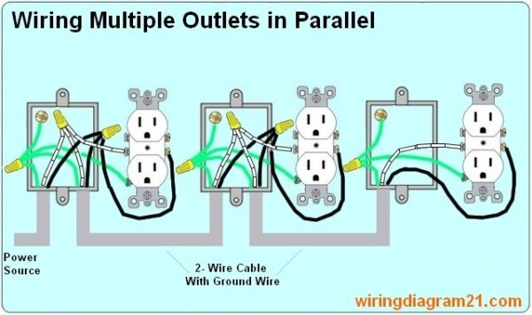 Marvelous Wiring Electrical Outlets In Parallel Wiring 101 Eumquscobadownsetwise Assnl