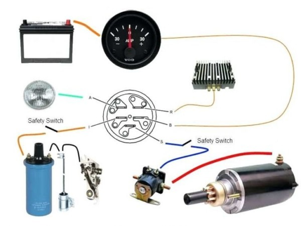 indak ignition switch wiring diagram | wiring diagram 6 pole ignition switch wiring diagram