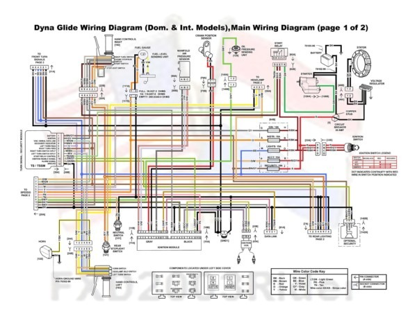 2009 Harley Flh Wiring Harness Diagram