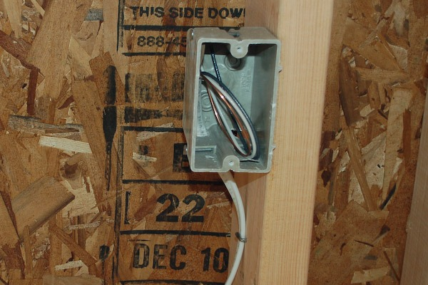 Install Electric Outlet In Backyard Shed