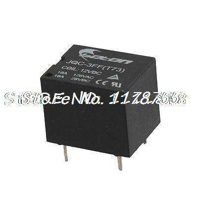 Jqc 3ff(t73) 10a 120v Ac  28v Dc Contact Power Relay Dc 12v Coil