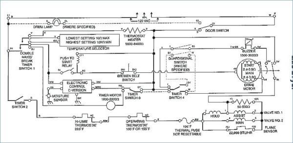 Kenmore 90 Series Dryer Wiring Diagram