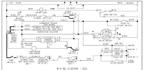 Kenmore 90 Series Wiring Diagram