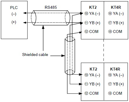 Kt4r Temperature Controller Wiring  Connection