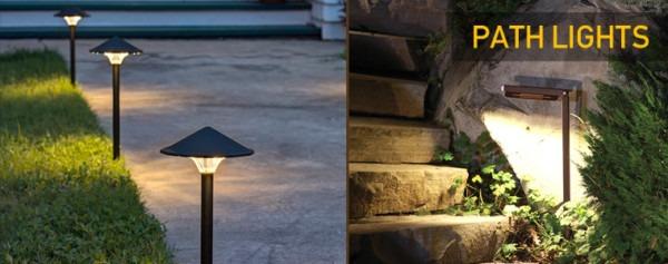 Led Light Design  Led Walkway Lights 120 Volt Low Voltage Path