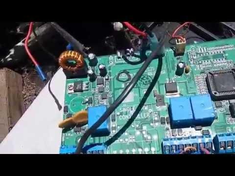 Mule Gate Opener Control Panel Repair Assessment