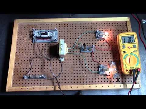 Neutral Wire Explained With Lamps 3 Wire Electrical System Single