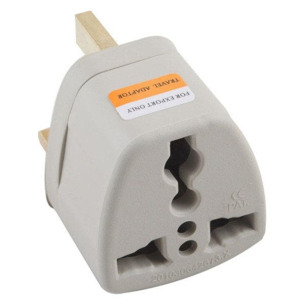 New Us Au Eu To Uk 3 Pin Travel Adapter Converter Outlet Ac Wall