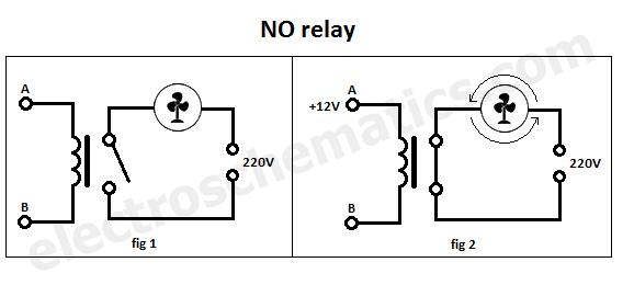 No Spst Relay