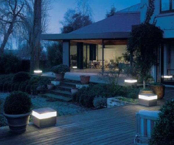 Outdoor Lighting  Astonishing Hardwired Outdoor Lighting Wired Led