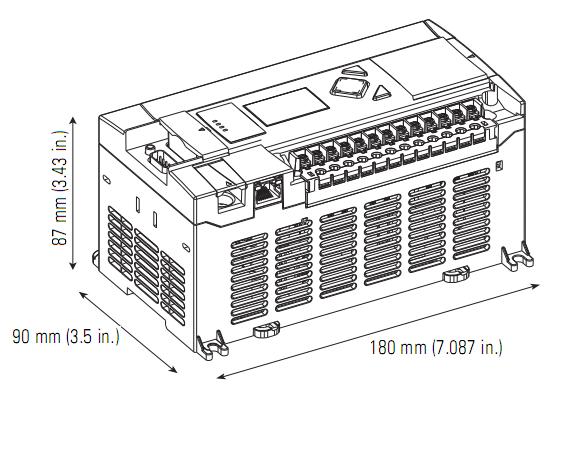 Plc Micrologix 1400 1766