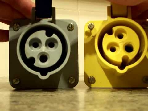 Plugs   Yellow 110v Plugs, Bs En 60309