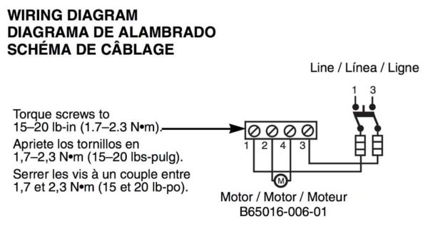 Pressure Switch Wiring